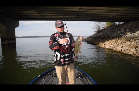 How to Fish Bass in Riprap