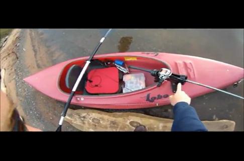 Smallmouth Bass Fishing From the Kayak