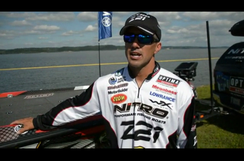 Edwin Evers Had a Good Day 1 at BASSfest