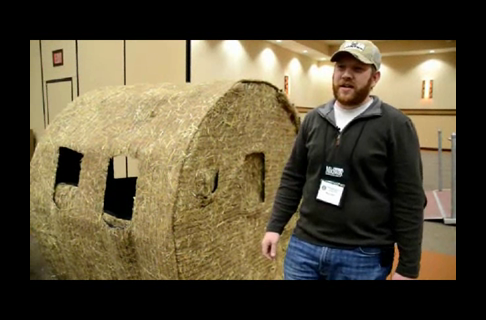 Hay Bale Blinds From Blind Ambition