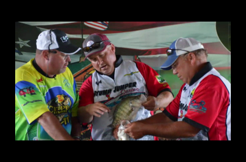 Morrow and Maupin Take 1st Place at The Crappie Masters Event on Truman