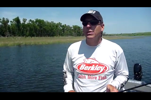 Fishing in North Dakota With Jim Carroll on The Fourth Of July