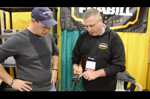 Tom Dietz Talks Frabill Products at the 2014 Chicago Muskie Show