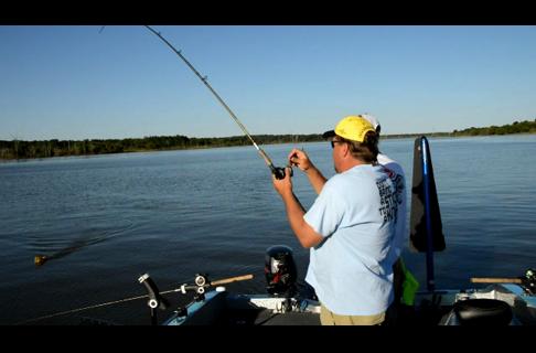 Trolling For Catfish on Truman Reservoir