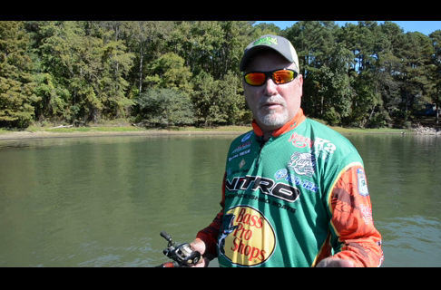 Dennis Tietje Describes Fishing a Crawfish Bait