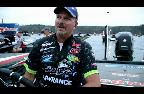 Day 1 FLW Tour Event on Lewis Smith Lake With Jimmy Reese