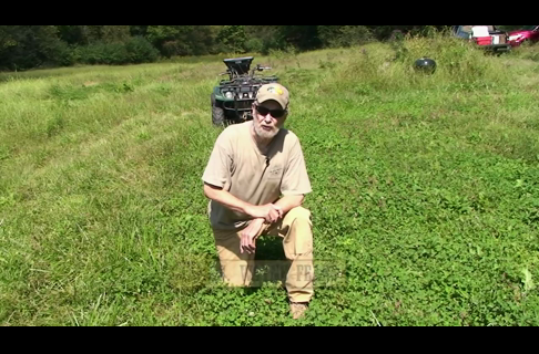 Using an ATV to Manage Semi-Permanent Durana Clover Food Plots 1 of 5