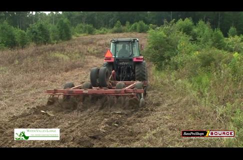 Spraying Fields and Establishing a Plan for Herd Habitat