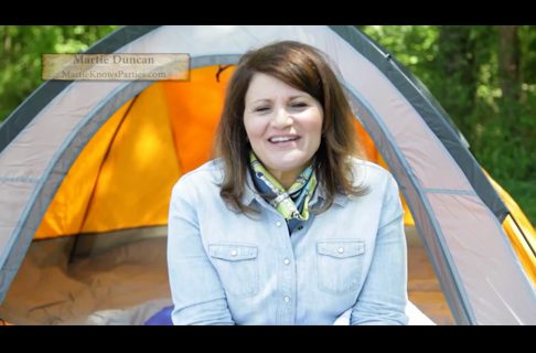 Martie Duncan Offers Tips for Backyard Campouts & Cookouts
