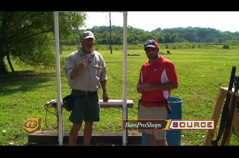 Shooting the Springing Teal Target with Shooting Instructors Terry Hetrick and Chris Reed - Top Shot