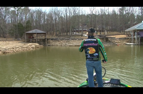 Find Bass Magnets During Low Water