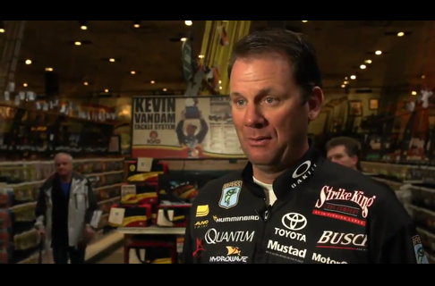 Kevin VanDam Answers Questions On Muskegon Lake