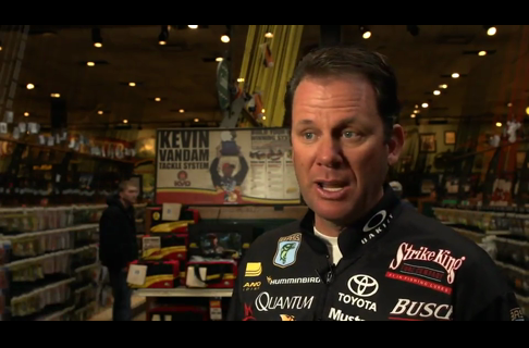 Kevin VanDam on the Best Cold Weather Bass Lure