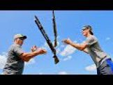 Gould Brothers: Trick Shots Pump Shotgun  | Throw N Loads