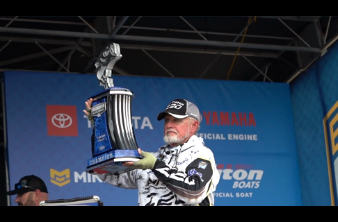 How Rick Clunn WON Bassmaster Elite