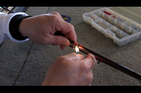 How to Repair a Fishing Rod Guide