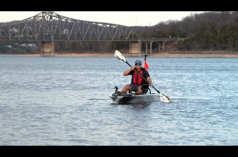 This is YakPower on the Ascend 128T Kayak