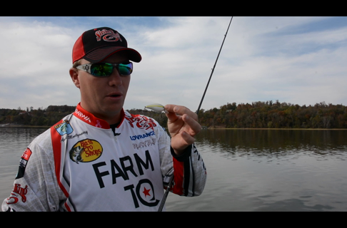 Fall Shallow Mini Cranking for Bass