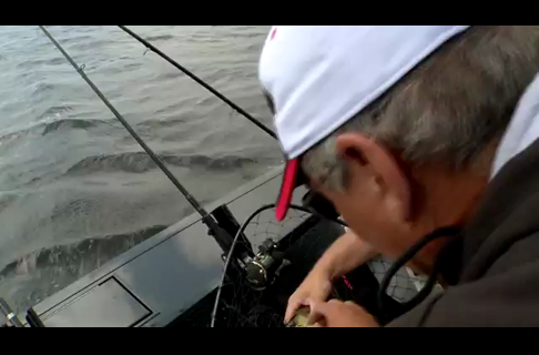 Fishing Tip - How to Shuffle Planer Boards Effectively