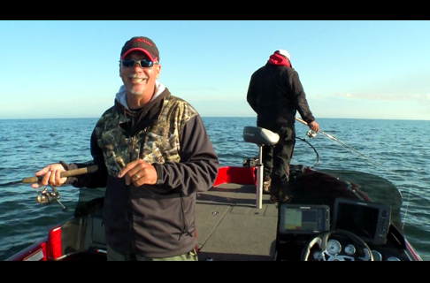 Fishing Tip – Fall Jigging Structure on the Great Lakes Walleyes