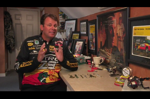 Kevin VanDam on Hooks for Soft Plastics