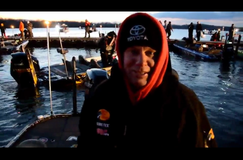 Kevin VanDam Bassmaster Classic Day One