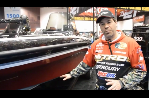 Nitro/Mercury Pro Keith Kavajecz introduces the new 2013  Nitro Zv21