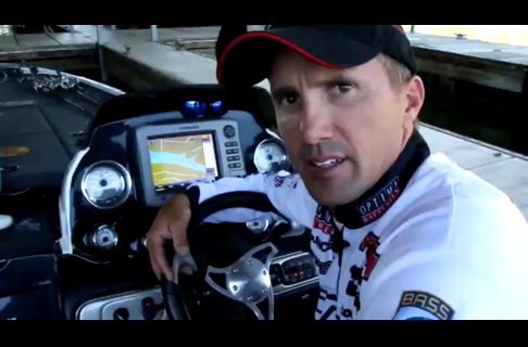 BASS Elite Pro Edwin Evers Lowrance Electronics Tip
