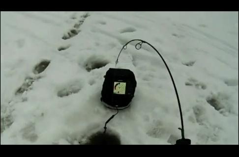 Icing Panfish with a Humminbird Ice Sonar