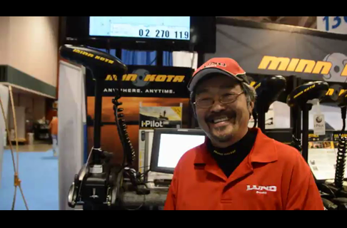 Ted Takasaki on The Minn Kota Terrova Teamed up With The Humminbird 1158c
