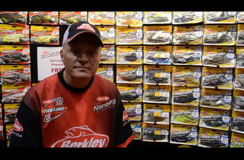 Dale Stroschein on The Berkley Power Bait Ripple Shad