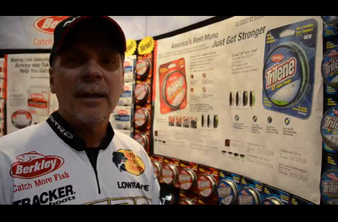 Walleye Pro Gary Parsons on The New Improved Trilene XL and XT Line