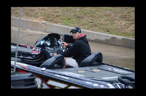 2013 Day Two Bass Master Elite Alabama River Images