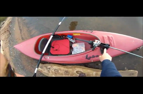 Smallmouth Bass Fishing From the Kayak