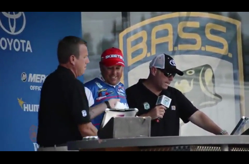 2013 Bassmaster Elite Mississippi River Rumble Day Two Action Reel