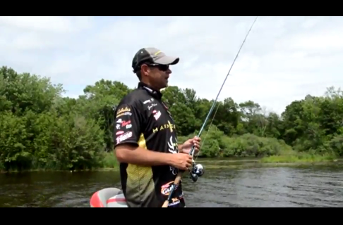 Walleye Pro Jason Przekurat , the Minn Kota  Talon  Not Just For Bass Anglers