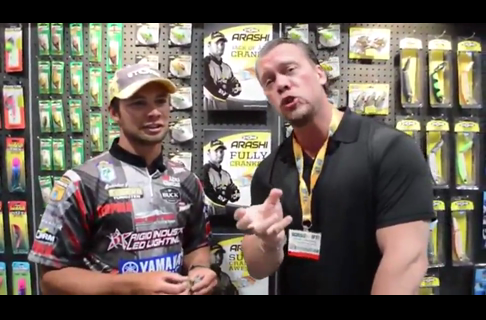 2013 ICAST, Dave Landahl Talks Cranks With Brandon Palaniuk