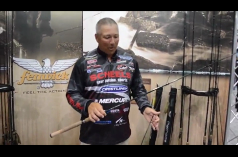 2013 ICAST Johnnie Candle With The Fenwick Method Rod