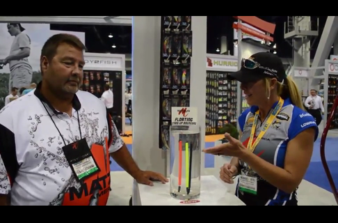 2013 ICAST Show Marianne Huskey on Bottom Bouncers