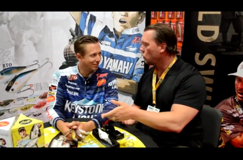 2013 ICAST Brent Ehrler on Lucky Craft