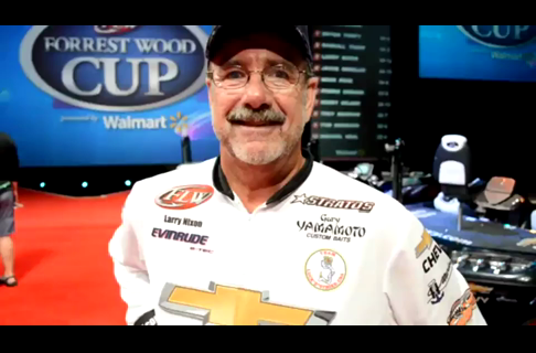 2013 Forrest Wood Cup - Larry Nixon, 3rd on Day 4