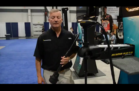 2013 ICAST; Humminbird 360 Imaging Bow Mount