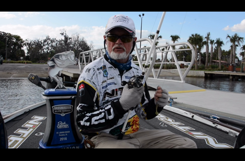 The Gear Rick Clunn won the St. John's River Bassmaster Elite With
