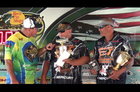 A Tie For 2nd Place at The Crappie Masters National Qualifier