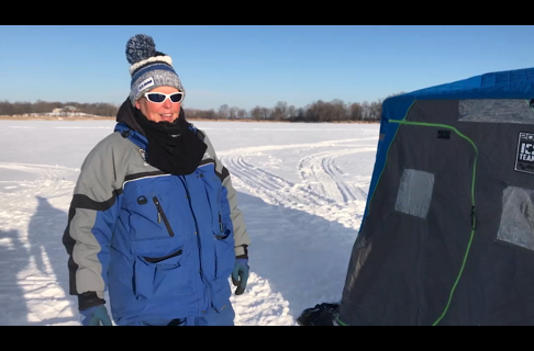 Extreme Cold Weather Ice Fishing Tips With Barb Carey