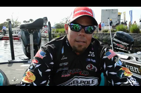 Lane Leads on Day Two on St. John's River