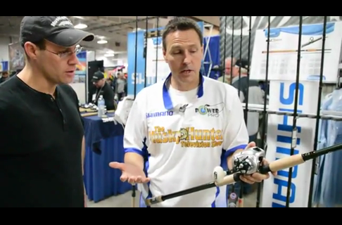 New Shimano Musky Rods With Jim Saric