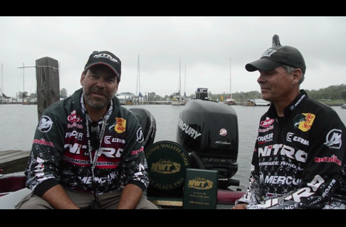 Nitro Pros Keith Kavajecz and Gary Parsons, Jigging up an NWT Win and a Second!