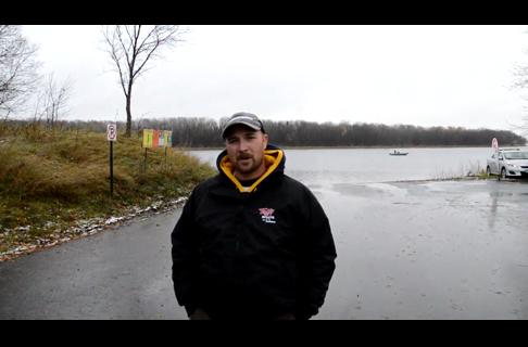 Late Fall Rainy River Walleyes