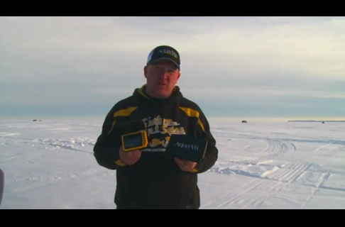 Ice Fishing Scouting With the Aqua-Vu Micro+DVR